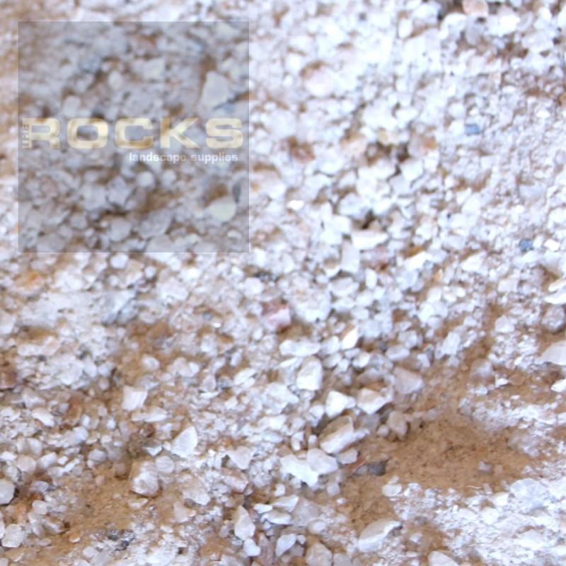White Quartz Crusher DUst